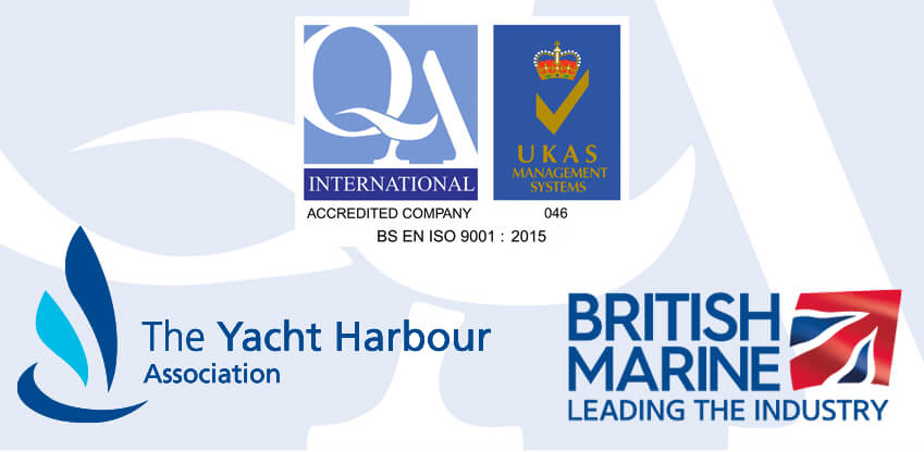 RK Marine's accreditations