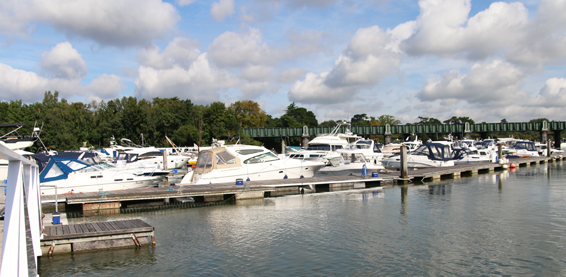 RK Marine boat berth options