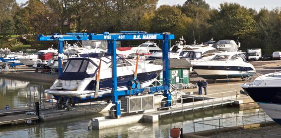 Swanwick boat yard