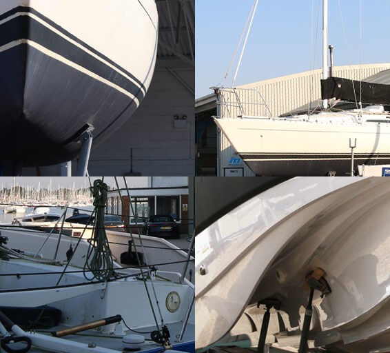 Boat storage options at RK Marine