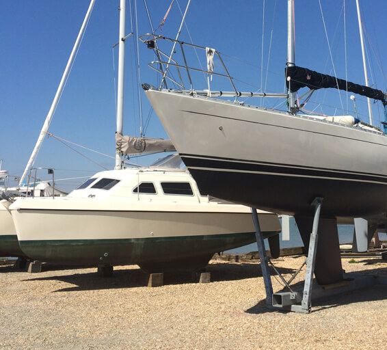 Boat yards in Swanwick and Warsash