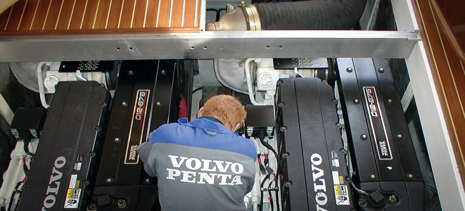 Servicing by Volvo Penta qualified engineers