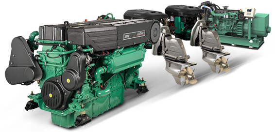 Volvo Penta engines