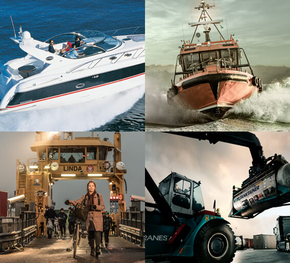 Marine services and industrial applications